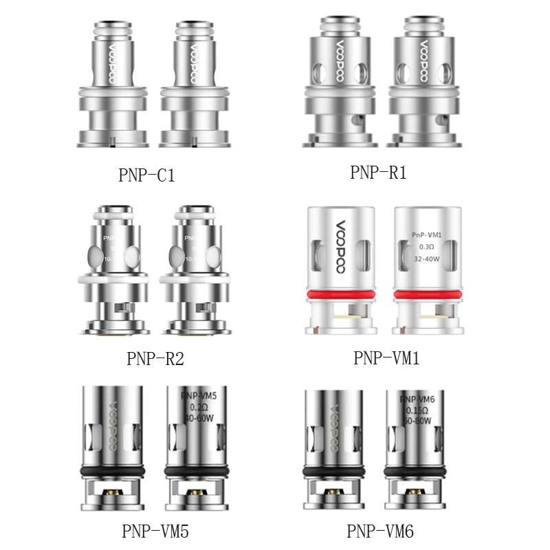 Vinci r 끌기 X 키트 DHL을위한 100 % 원래 PNP-R2 R1 C1 PNP-VM1 VM5 VM6 교체 코일 100 % 원래 PNP-R2 R1 C1
