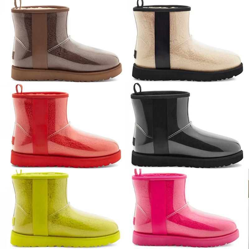 Sıcak Tasarımcı Klasik Yün uggs ugg ugglis wgg Kaşmir Temizle 20 Kısa II Üçlü Avustralya Bayan Kadın Boot Kış Kar Botları Mini Kürklü Avustralya Patik
