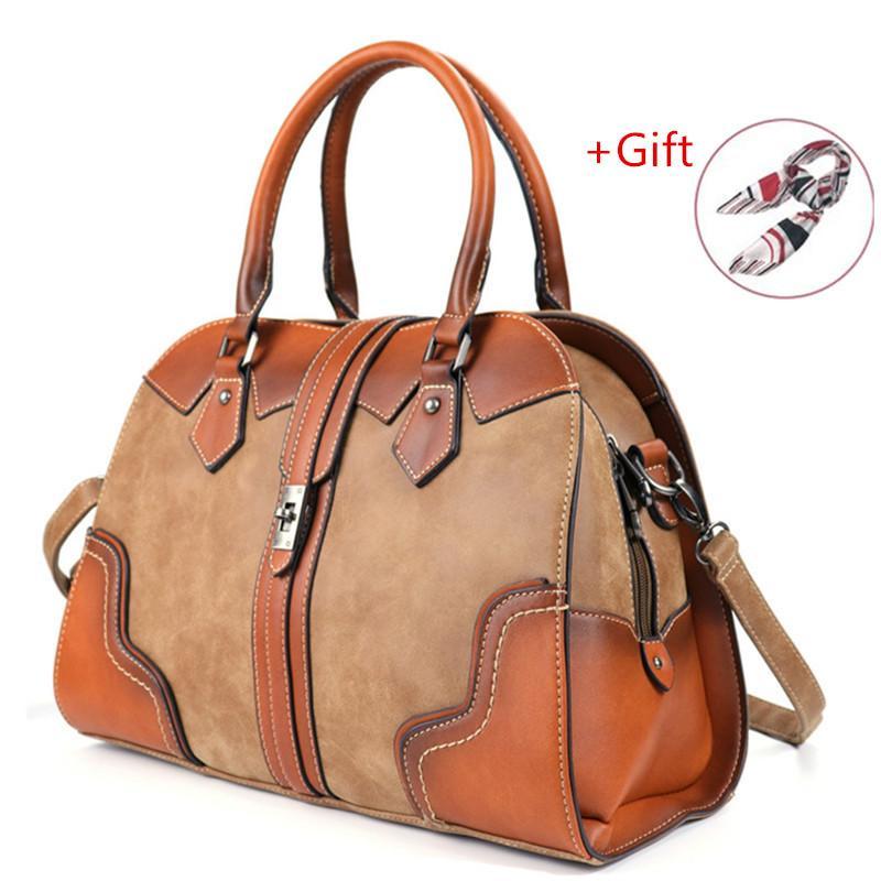 2020 Hot Sale Fashion Ladies Handbag Soft Leather Women's Large Capacity Shoulder Bag For Women Crossbody Messenger Bags RU C0121