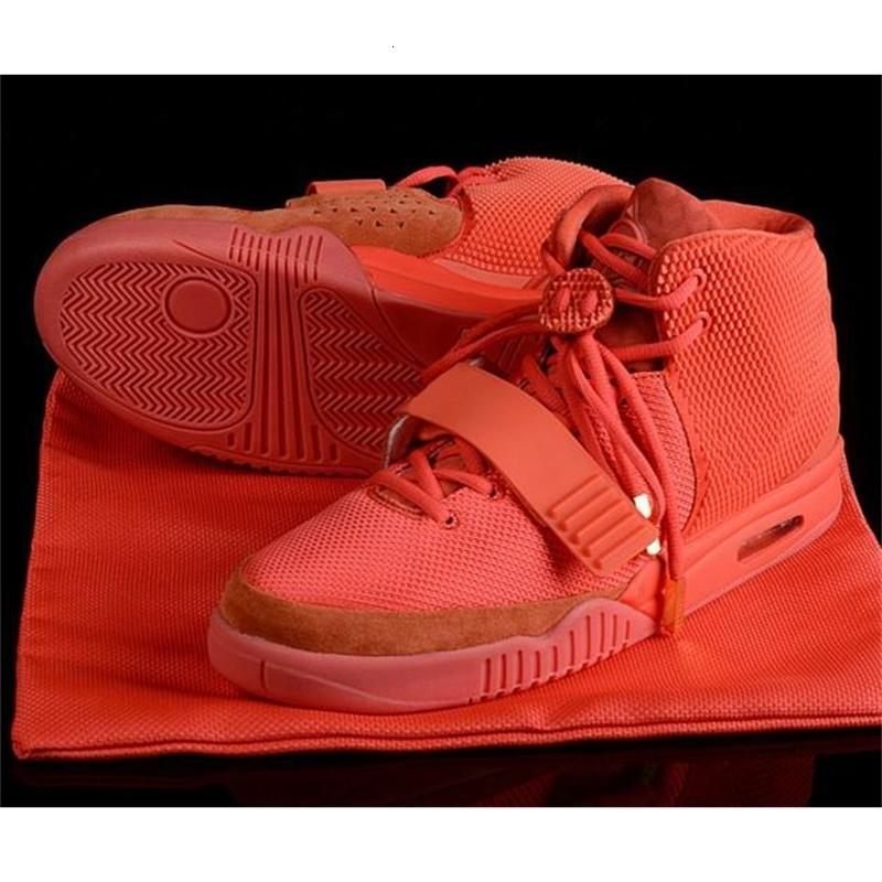 Мода 2 Boots SP ОКТ RED 2s Men Glow Dark Загрузочный II Wolf West Gray Pure Black Shoes