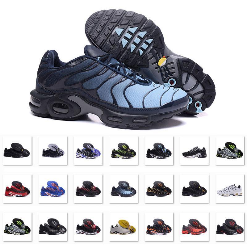 Original Nike Air Max Vapormax Plus TN hommes chaussures atmosphère coussin hommes coussin d'air chaussures de course taille 40-46 924453-300