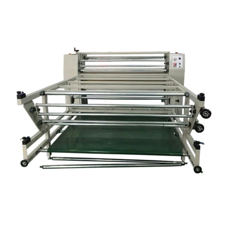 80x100 heat transfer press machine heat transfer printing machine for glass bottle