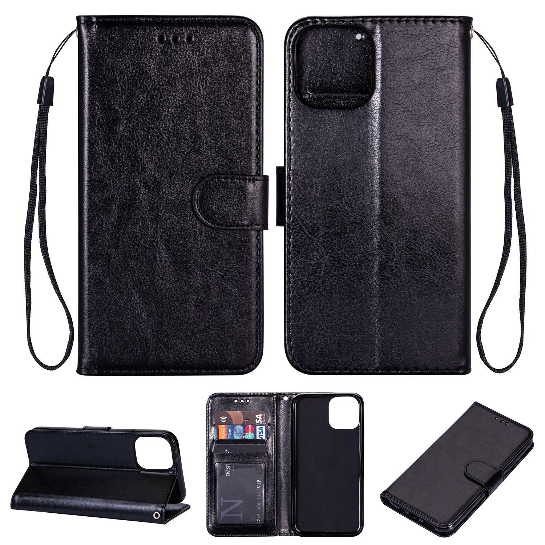 Capas removíveis magnéticos de couro para iPhone 12 Mini X 10 8 7 Carteira destacável 2 em 1 Samsung Galaxy Note8 S8 Plus