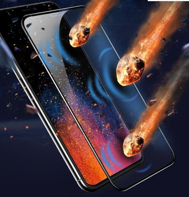 Seramik Koruyucu PET Yumuşak Film 9H Tam Kapak IPhone 11 Pro Max XS X XR SE2 SE 2020 8 7 Artı I7 6 6S Değil temperli cam moda Ekran