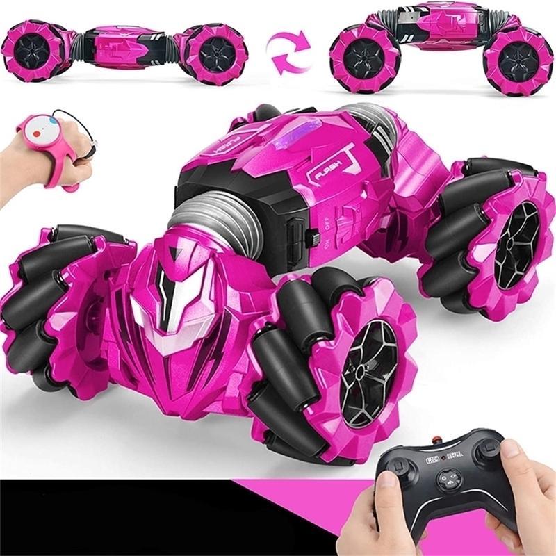 Gesten Sensor Twist Light Music Off-Road Fernbedienung Watch Drift Trotating Stunt Klettern Auto Eingebaute Batterie 201226