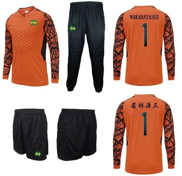 Camisetas Capitaine Tsubasa Soccer, Oliver Atom Maillots de Foot Nankatsu Gardien de but Wakabayashi Genzo Cosplay1