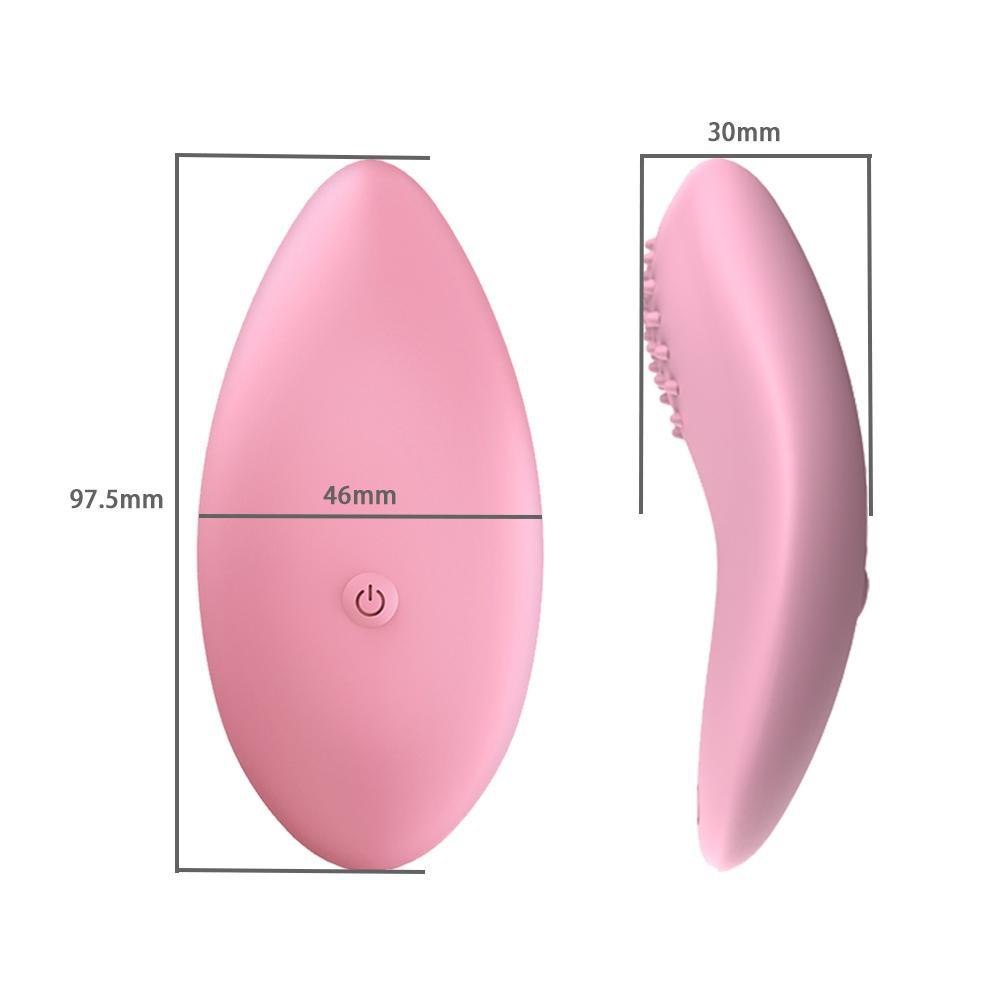 Controle Remoto Sem Fio Invisível Vibrador Clitoral Estimulador Portátil Panty Vibrador Vibrating Amor Ovos Sexy Brinquedos Para Mulher