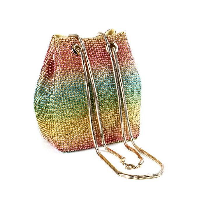 Bag Party Sparkly For Crystal Women Clutch Purse Designers Evening Handbag Goses Crossbody Bags Shoulder Luxurys Wedding Cockta Par Eoheb