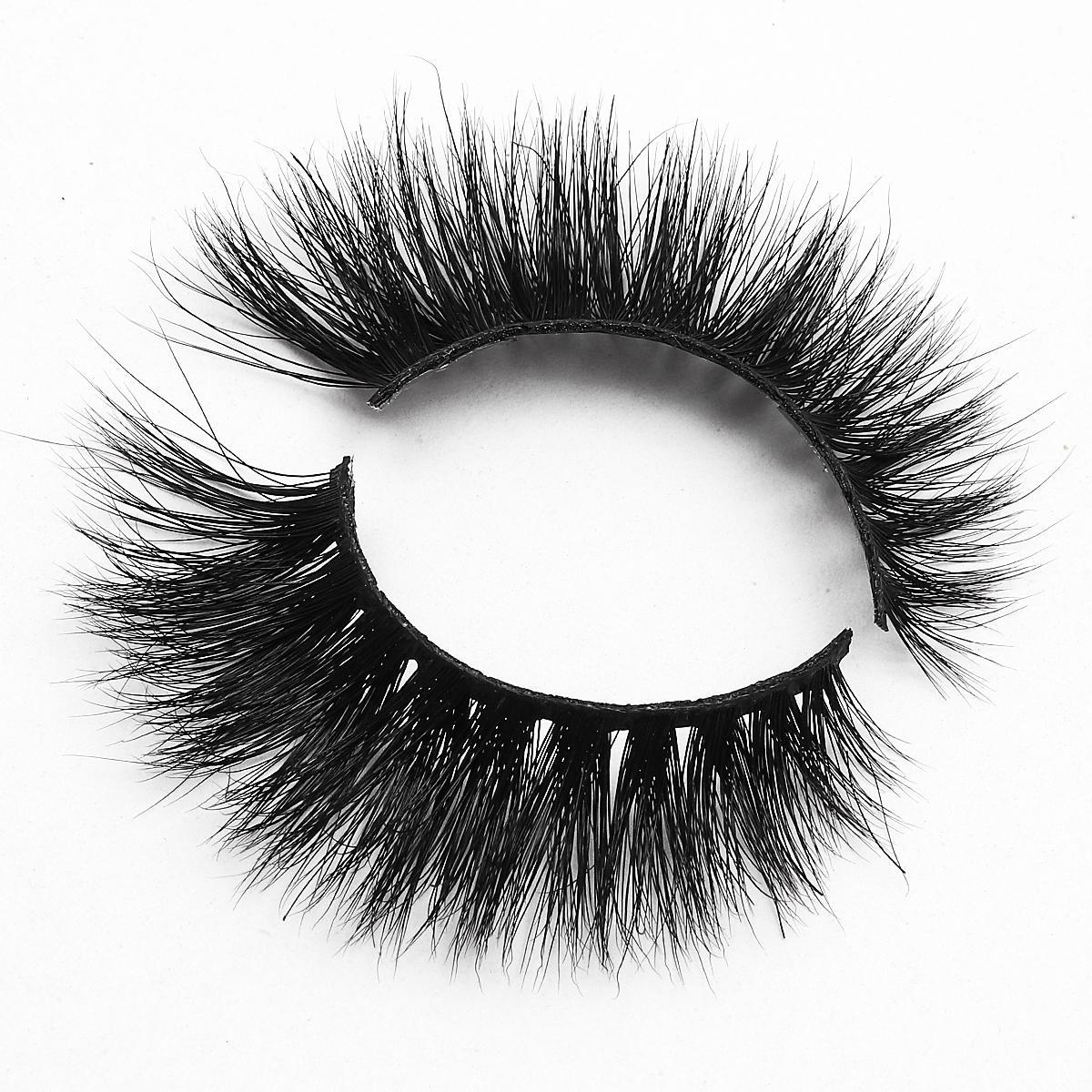 [Mink falsche Wimpern-MX39] echte Mink-Wimpern 1 Paar Mode-Augen-Make-up-Werkzeuge natürlichen Verlängerungs-Augenschwanz-Fälschungswimpern