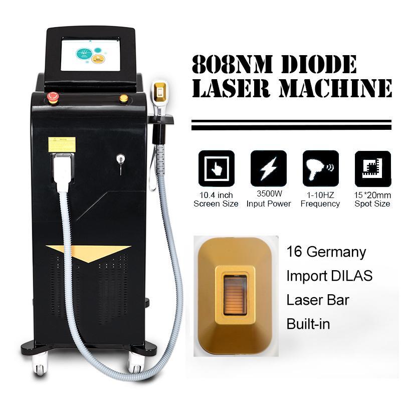 Nuevo CE aprobado Alma Soprano ICE XL Platinum diodo láser 808NM Máquina de depilación láser de diodo Precio