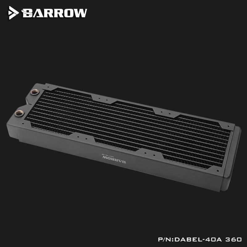 Radiateur de cuivre de la série Barrow Dabel-40a (épaisseur: 40mm), radiateur de refroidissement par l'eau de l'ordinateur