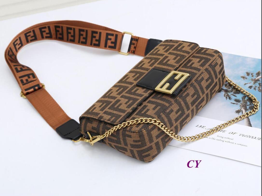 luxurys tasarımcıları çanta çanta Yeni moda bayan tere deri messenger çanta dalga deseni omuz çantası