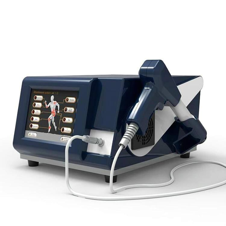 8bar Step By 0.5bar Shockwave Thérapie à ondes de choc pour la dysfonctionnement de la cellulite de la dysfonction érectile masculine