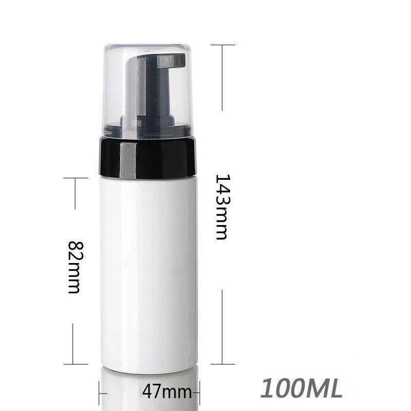 100ml 120ml 150ml 200ml Foramer garrafas vazio branco espuma de espuma de espuma de mão lavar sabão Mousse creme Dispenser Borbulhando GWB5794