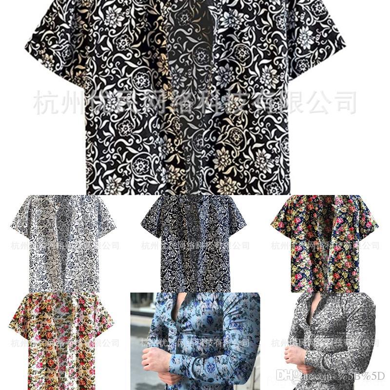 RXFU 2020 NOUVEAU DE MONTAGE VAPEL Automne Top Shirtwinter Shirtwinter imprimé à manches longues Chemise de fleur décontractée grande taille
