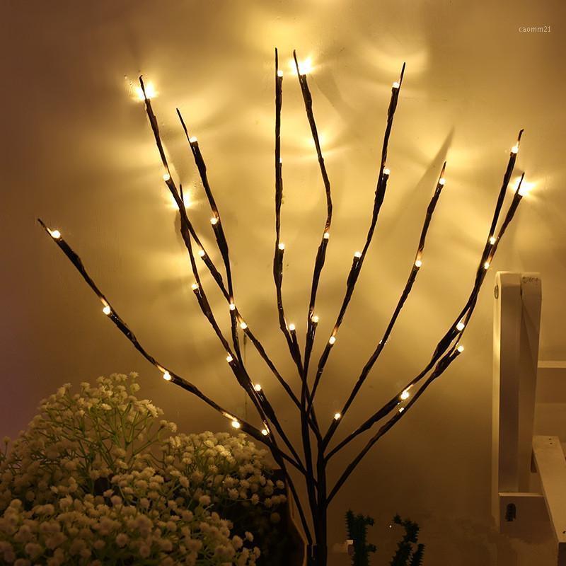 Новогодние украшения Светодиодные светильники Flower Flateral Floral Lights 20 лампочек Рождественские украшения для домашних рождественских украшений Navidad.1