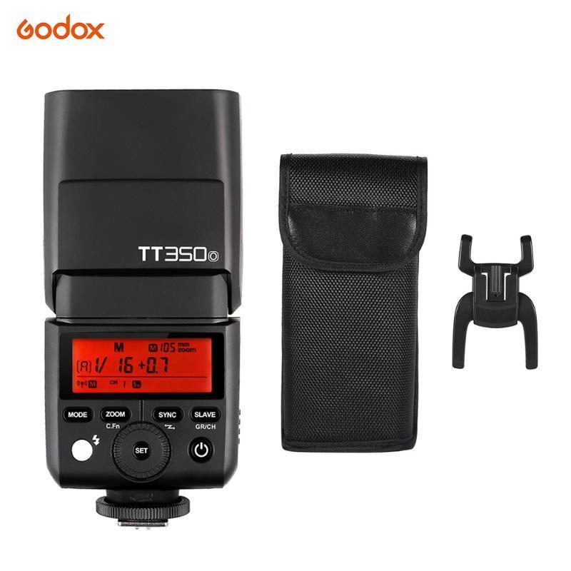 Godox Thinklite350O MiniL Flash 2.4G sem fio Mestre Escravo Speedlite 1 / 8000s Sincronização de alta velocidade para