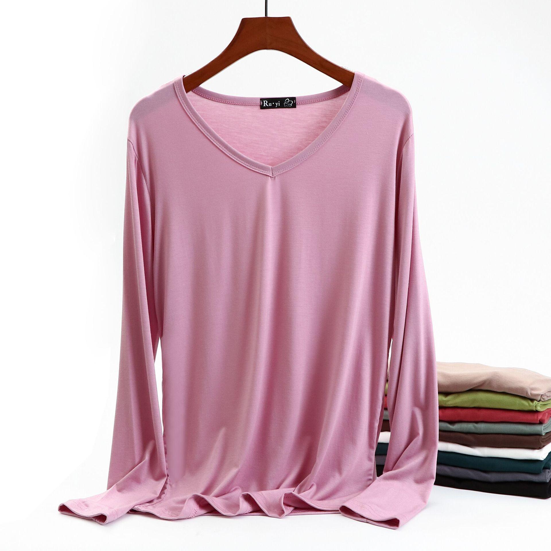 Automne Femmes T-shirt T-shirt Top manches longues Noir Blanc Casual Tee shirt Femme Femme Slim Sexy Tops Plus Taille Vêtements de mode 201125