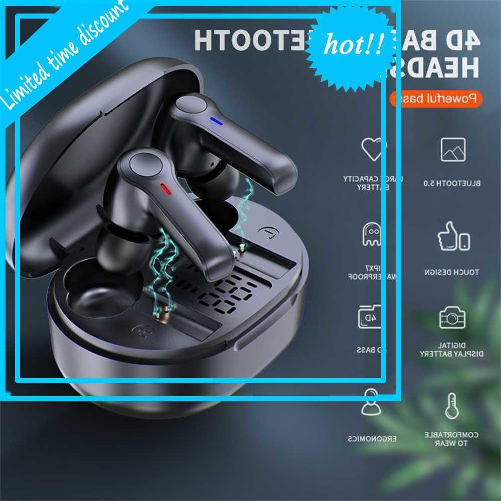 R22 TWS Bluetooth V5.0 Real Wireless Водонепроницаемые стереосистемы Уши в ухо Hifi Спорт Бизнес Гарнитура