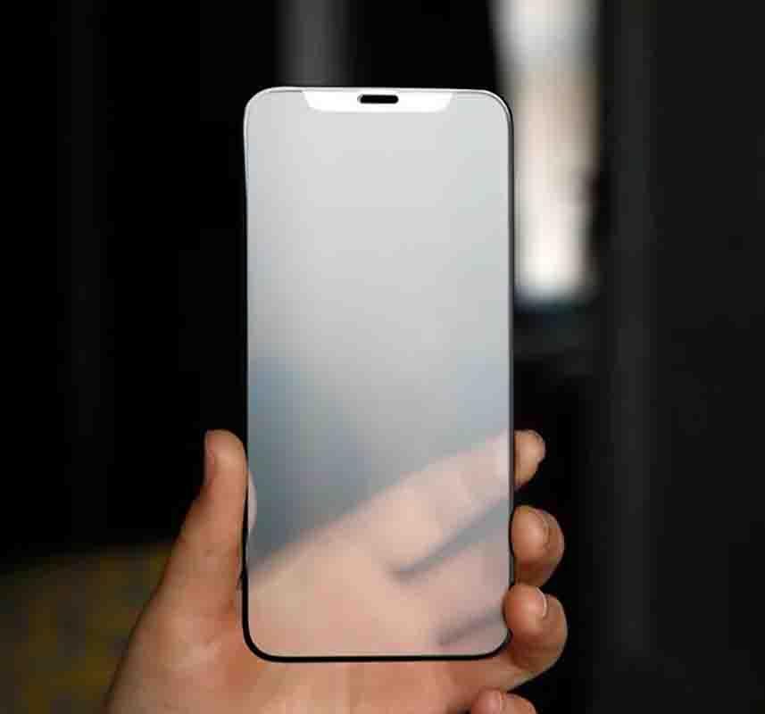 Mattschirm-Schutz für IPhone 12mini 12 / 12pro 12promax 11 / 11Pro / 11 ProMax Frosted Protective High Definition gehärtetes Glas