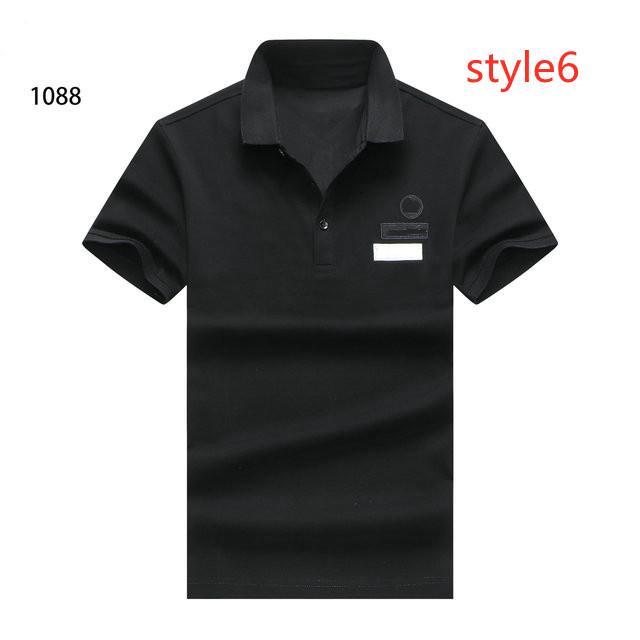 T-shirt à manches courtes pour hommes de printemps et style d'été