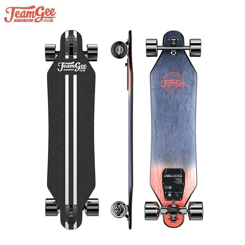 H5 Electric Scooter Adults 36V 760W Four Wheel Scooters With Wireless Somatosensory Remote Control Electric Skateboard Longboard