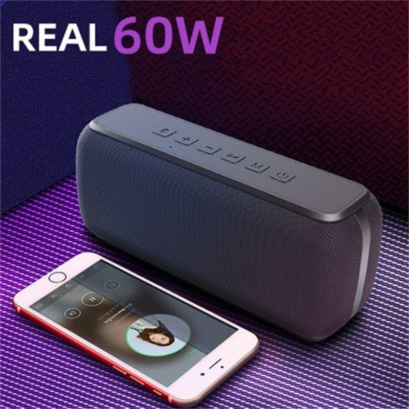 XDOBO Yüksek Güçlü Su Geçirmez Bluetooth Hoparlör Stereo Bas Sütun Taşınabilir Hoparlör TWS Subwoofer Soundbar Desteği TF AUX LJ201027