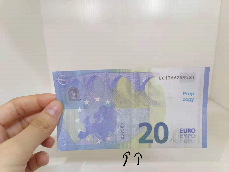 Die neuesten grenzüberschreitenden Produkt-Prop-Währung 20 Euro Kinderspielzeug und Unterrichtsausrüstung Prop Währungswährung4