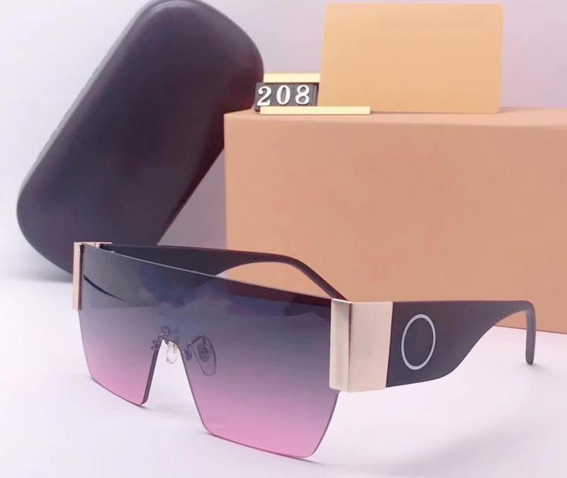 Novos óculos de sol milionário para homens mulheres quadro quadrado vintage 208 óculos de sol para unisex brilhante ouro quente venda ouro banhado a ouro