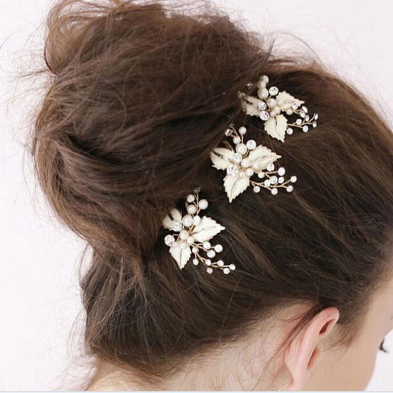 Зажимы для волос Barnettes Нежный арт Ретро аксессуары свадебные свадебные ювелирные изделия виноградное платье студия штырь литьевых шпильков