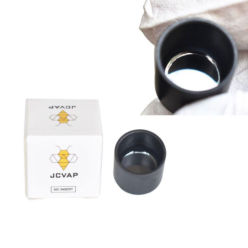 POLIZIERTE SIC-Einsatz Silikon-Hartmetall-Keramik SIC V3 SIC für Puffpeak Kein Chazz-Zerstäuber-Ersatz Wachs-Verdampfer No Staub heller JCVAP