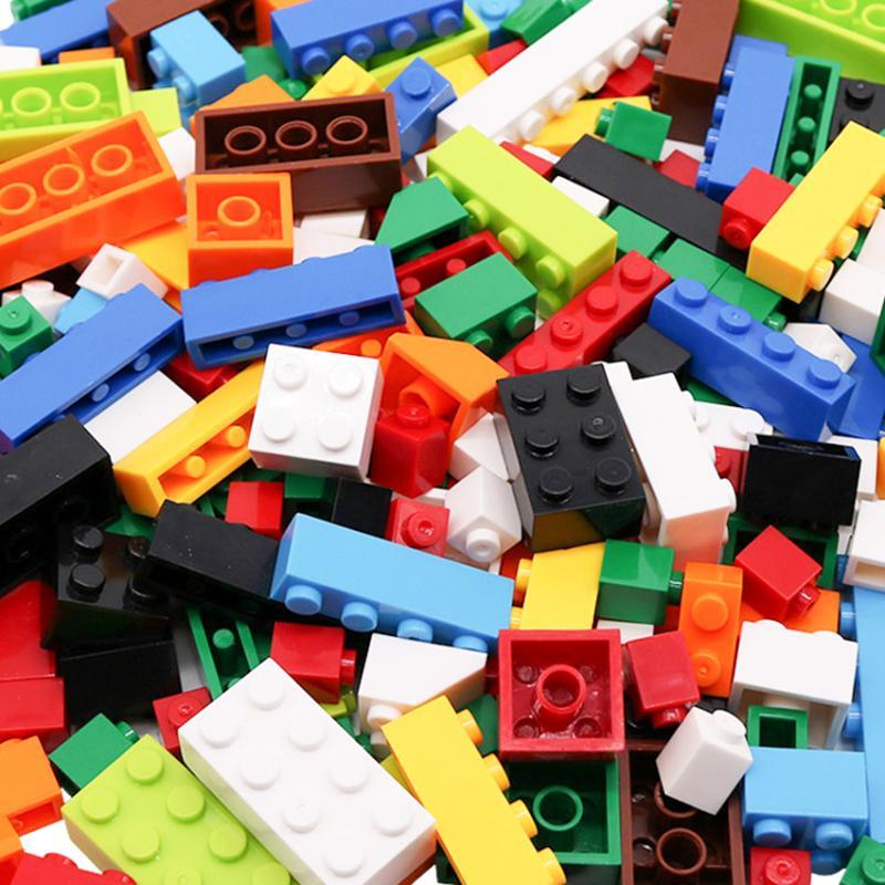 250-1750PCS Classique Petite taille des blocs de construction Garçon Fille Creative bricolage Briques de construction éducative Bloc jouet pour les enfants cadeau 1008