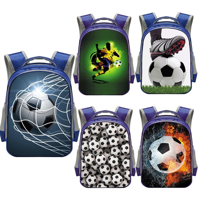 Kühle Footbally / Fußball-Rucksack für Kinder Kindergartentasche Kindergartentasche Boys School Rucksäcke Studenten BookbagX1014