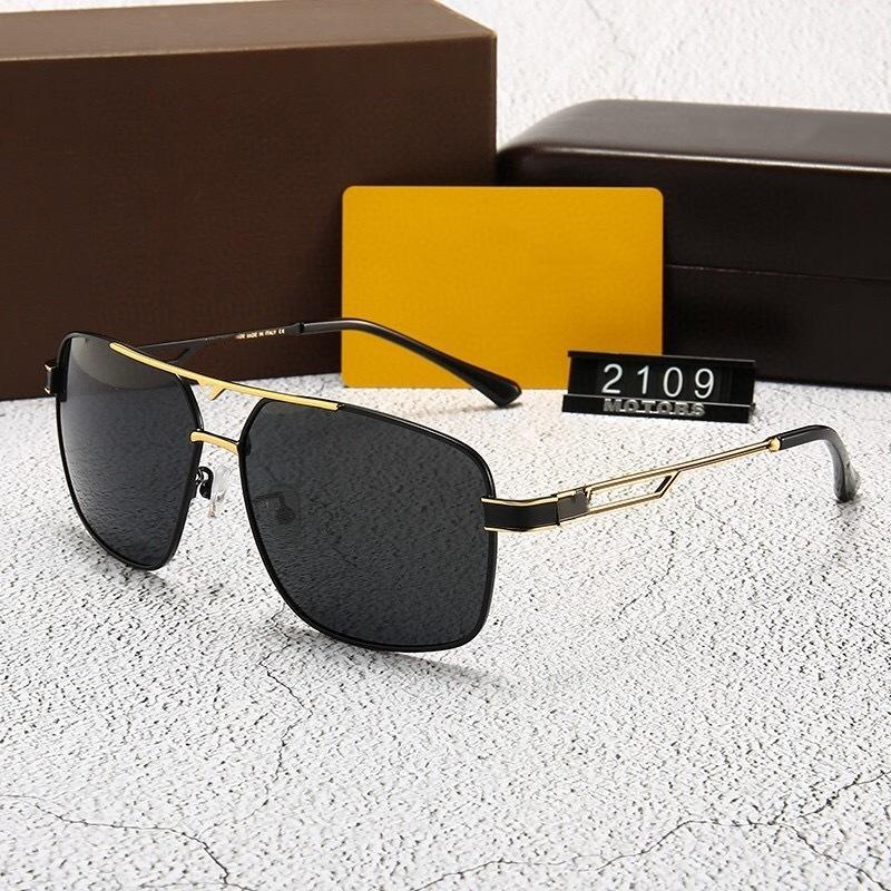 نظارات شمسية من خمسة ألوان -نساء 2021 أزياء مصممين إضافات عالية الجودة القيادة الاستقطاب 2109