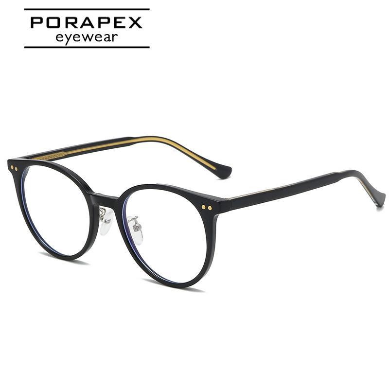 Porapex Metal Myopia Cadre Qualité Lunettes Lady Glass Ordinateur Eyeglasses Cadre 2020 Eye Eye élégante Chat High 1006 Cadres Femmes Sjvsr
