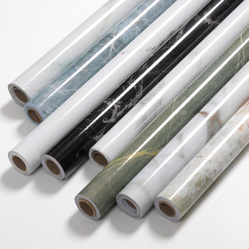 60 * 500CM Küche Marmor Kontakt Papier PVC-Wand-Aufkleber MarmorgegenTop Aufkleber Badezimmer Self Adhesive wasserdichte Tapete