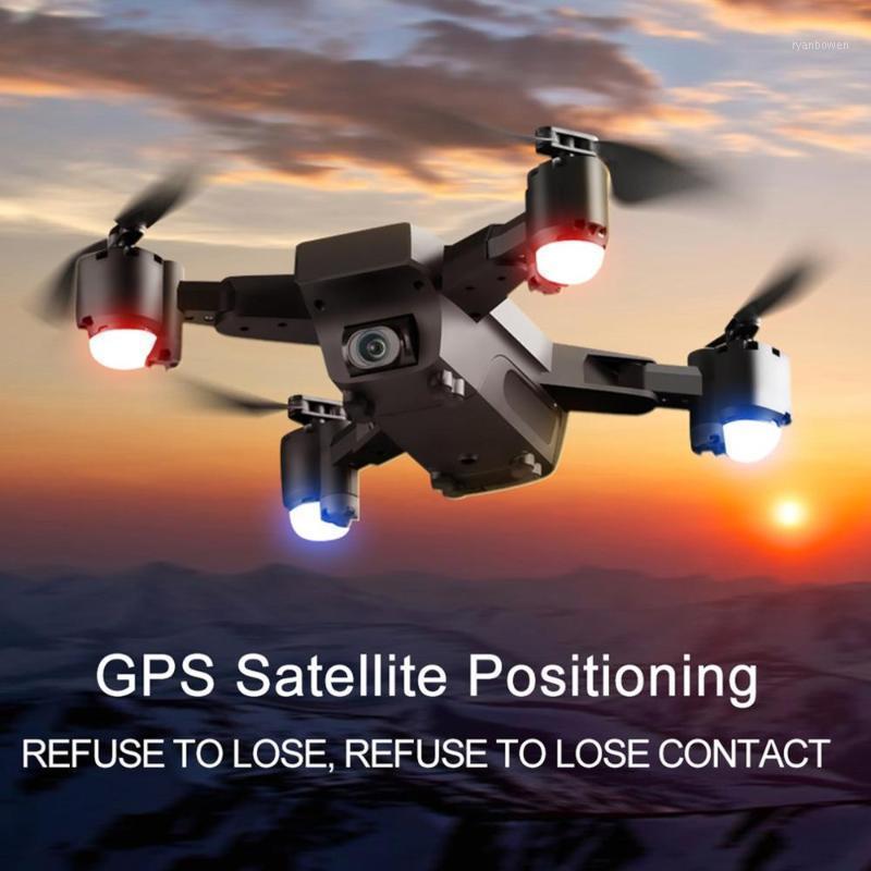 بدون طيار SMRC S20 6 محاور مصغرة 2.4 جرام GPS بدون طيار مع 110 درجة 1080P كاميرا زاوية واسعة للطي rc هليكوبتر تخزين حقيبة لعبة ل boy1
