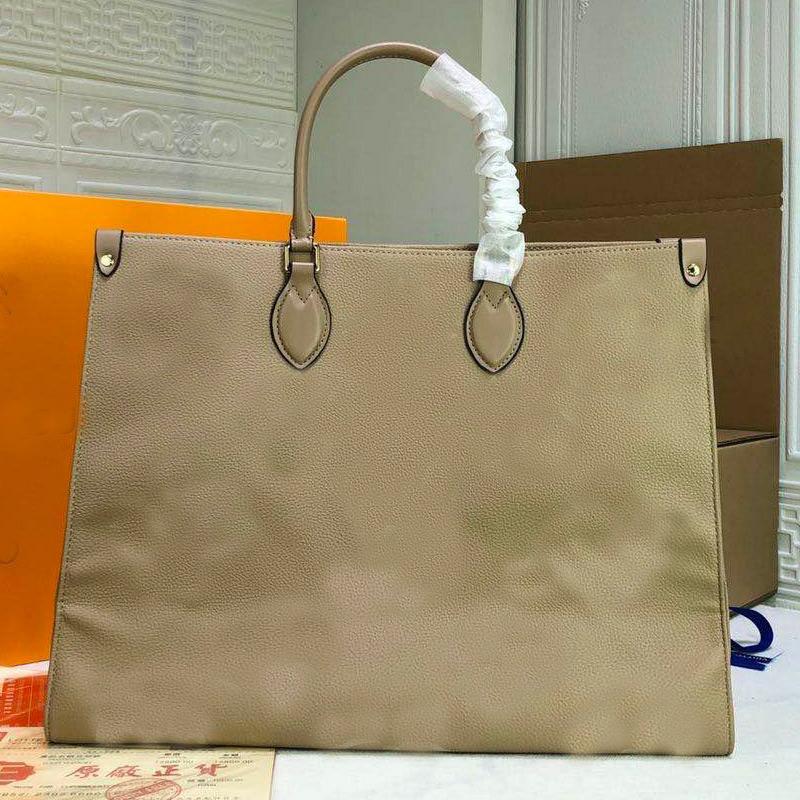 Women Handbag Hobo Bags Canvas genuine Leather Shoulder Bag L letter Old Flower Tote Bag Large Capacity shopping Weekender Bag 41*34*19cm