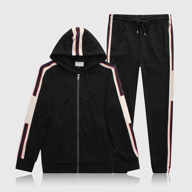 18Ss Ano Sportswear Jaqueta Terno Moda Running Sportswear Medusa Masculino Terno Esportivo Carta Impressão Roupas Travelsuit Sports