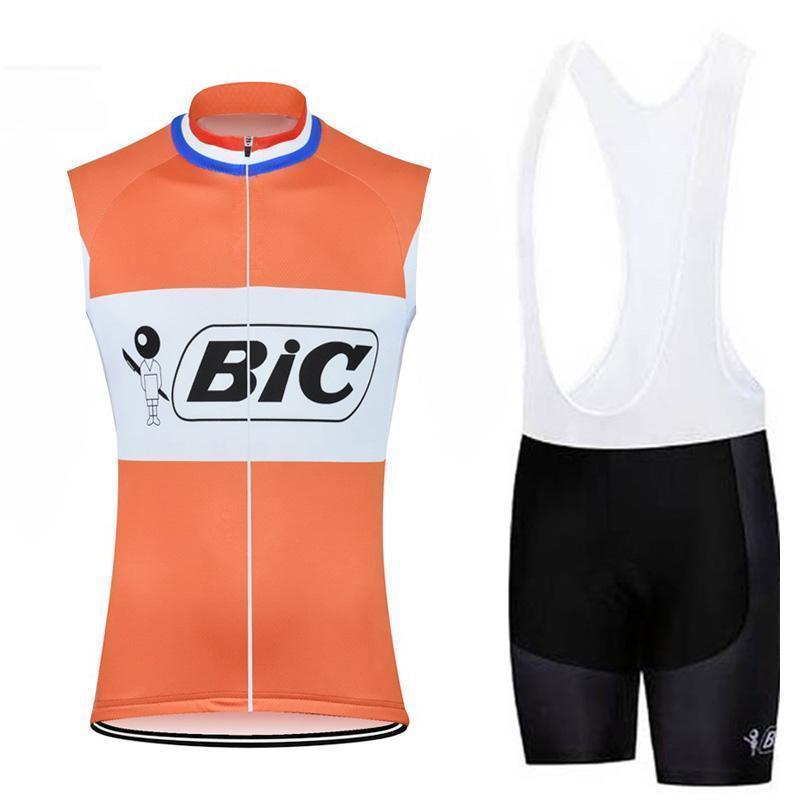 2020 Bic manches Maillot cyclisme Set Vêtements Cyclisme de montagne Vélo été imperrespirant Maillot Ropa Ciclismo Hombre