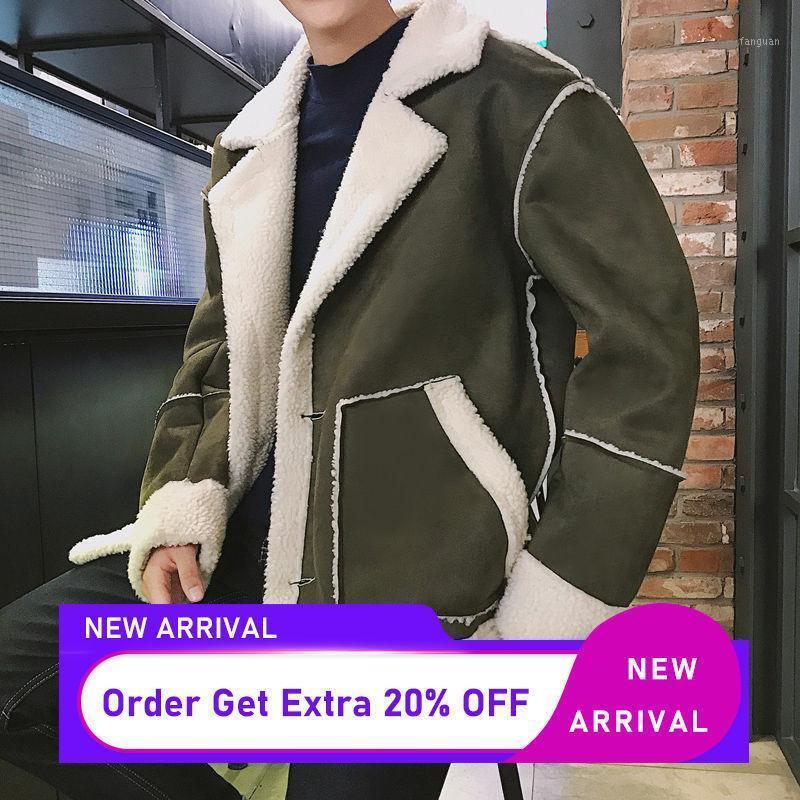 Men's Down Parkas Outono Inverno Quente Parka Casacos Para Homens Coreano Homem Casual LambSuol Jackets 2021 Harajuku Masculino Plus Size 5xl1