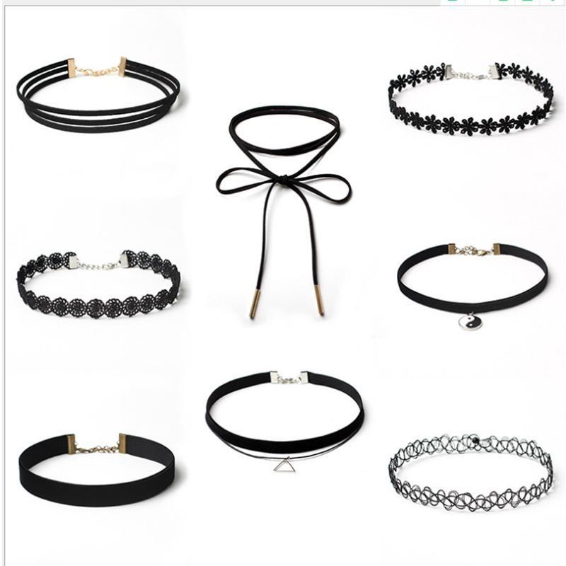 Velvet Fresh Tai Chi Pescado Collar Choker Collar Combinación 8pc / Lot