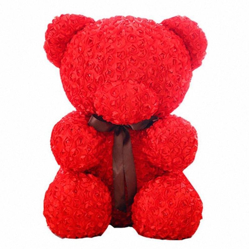 20 cm polistirolo Styrofoam Bianco schiuma orso stampo rosa orsacchiotto orso bianco cuore madri giorno regali festa decorazione di nozze buon Natale s23a #
