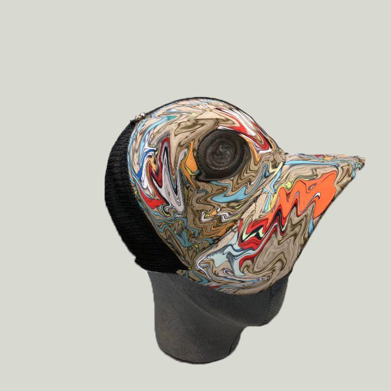 Luxo Letras Bola Caps Duck Impresso Lona Tampões Designer Mulheres Homens Caps Hip Hop Cap Bonés Presente Tampa Atacado