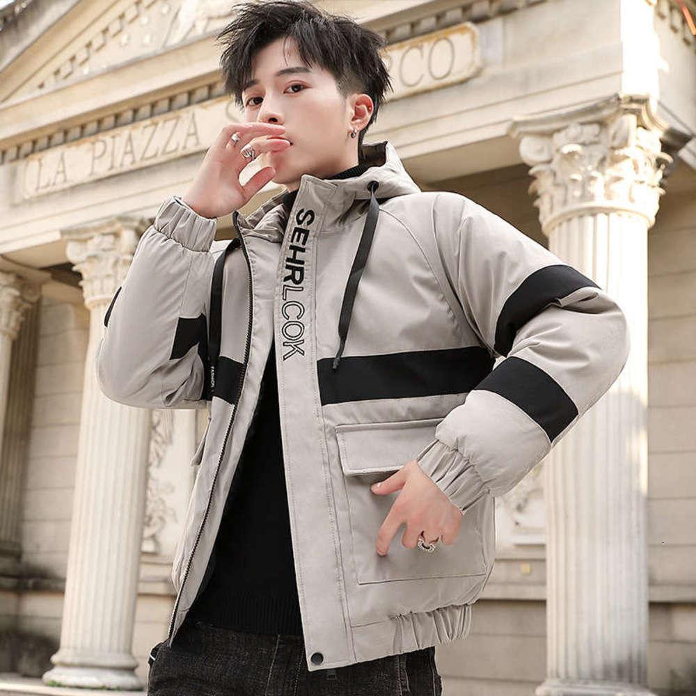 Veste rembourrée en coton pour hommes Nouvelle tendance en hiver 2019