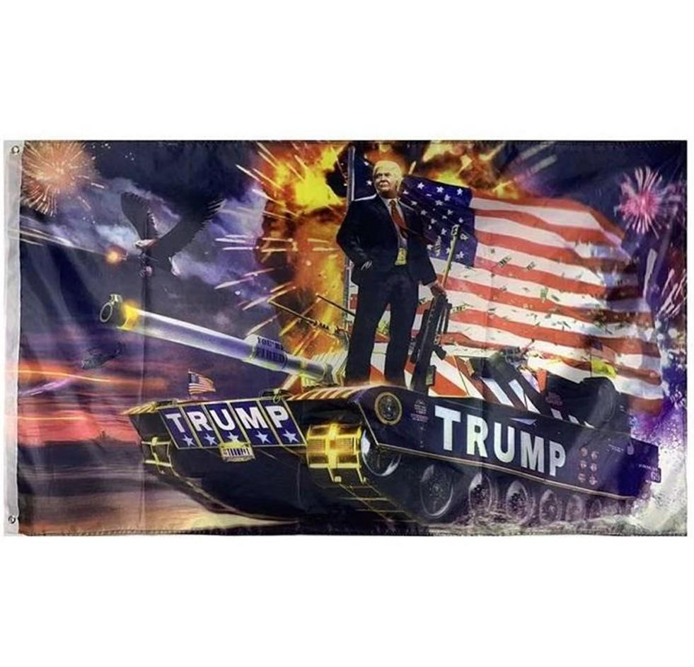 Donald Trump Flags Trump Keep American Great Again Flag Banner USA President Trump Election Flags 90*150cm KKF1877