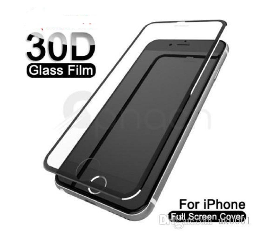 HOT 9D Aluminum Alloy Tempered Glass For iPhone 11 6 6s 7 8 Plus Screen Protector Film For iPhone X XR XS Max Protective Glass for iphone 11