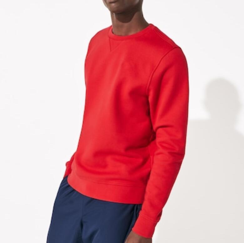Design de Moda Roupas Masculino Big Fish T Shirt Men algodão Roung Pescoço Fit manga comprida T- Shirts Tees casual para homens