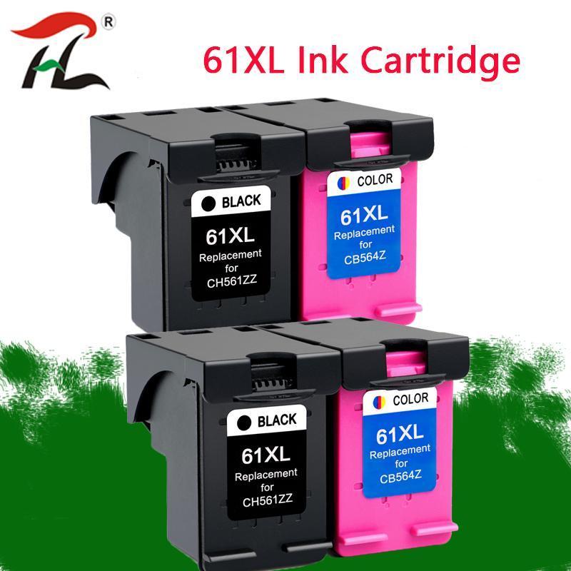 Reemplazo 61XL Cartucho de tinta para 61 xl 61 Deskjet 1050 1055 2000 1000 2050 2512 3000 5530 J110a J210a J310a 4500