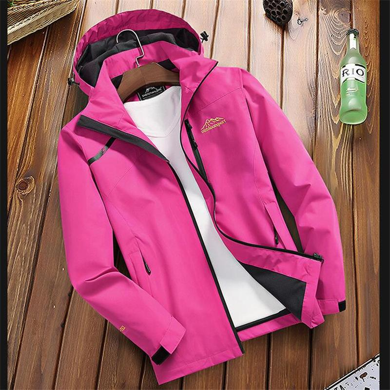 New Women's Spring Autumn Casual Jackets Outwear Breathable Windbreakers Women Waterproof Hooded Coats Female Overcoats Clothing